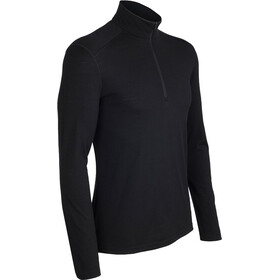Icebreaker Oasis LS Half Zip Men black